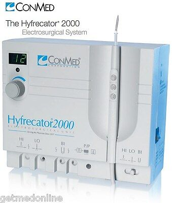 New Conmed Hyfrecator 2000 35w High Frequency Electrosurgical Generator