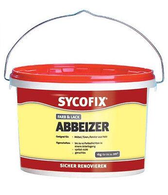 Sycofix Farb & Lackabbeizer Abbeizer  1kg Lack Farb Entferner