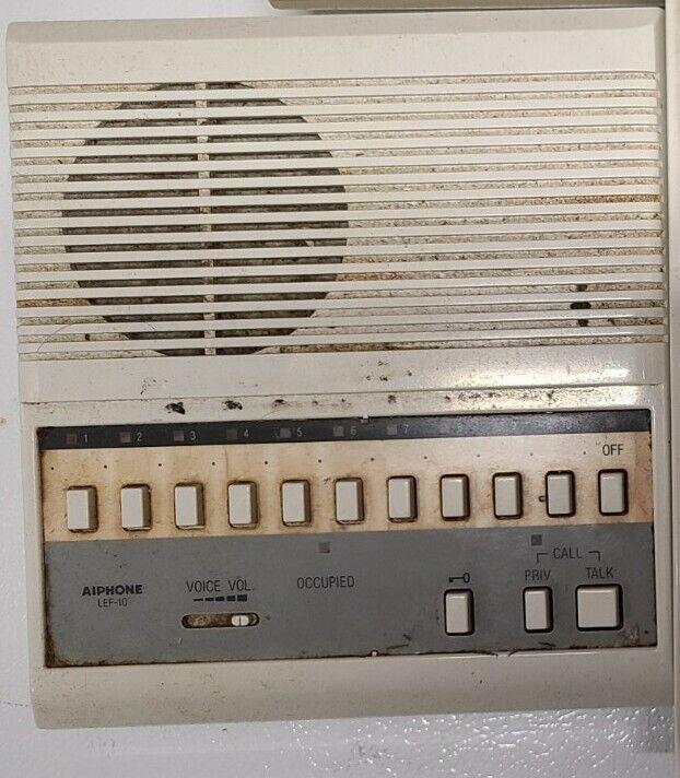 Aiphone LEF-10 Open voice Selective Call Intercom