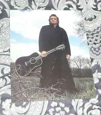 Johnny Cash Promo Photo As New FREE POSTAGE Man in Black