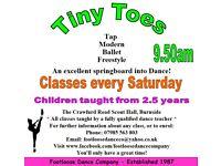 Tiny Toes Dance Class - Burnside Rutherglen - Enrolling 5/9/20