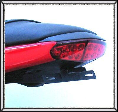 2009   2011 650R Ninja Targa Fender Eliminator Bikes W  Integrated Tail Lights