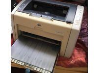 HP Laserjet 1022 USB printer.