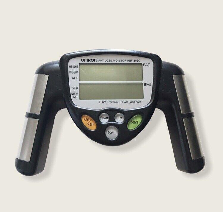 Omron Fat Loss Monitor HBF-306C Tested - Black