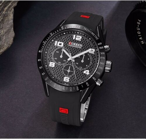 Curren Luxury Watch Men's Sports Military Army Fashion Quartz Analog Wrist Watch