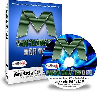 Vinylmaster Designer Dsr Vinyl Cutter Software Crossgrade With Cd