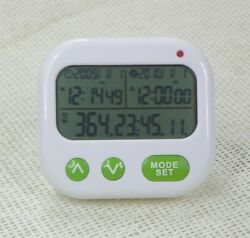 For Digital LCD Alarm Clock Event Reminder Day 1999 Days Count Down Timer