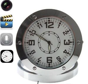 Spy Video Camera Clock