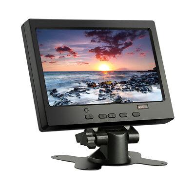 "7"" Inch Small Portable HDMI/VGA Monitor Screen Display For Raspberry pi 3 2 B+"