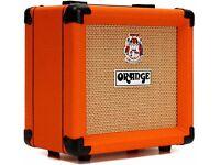 orange 1x8 guitar cab.