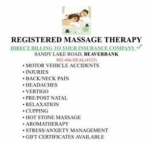 Registered Massage Therapy in Beaverbank