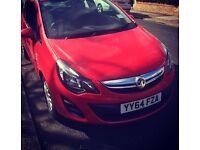 Vauxhall corsa 2014 eco flex 1.0 litre