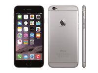 Space grey iPhone 6(64gb)