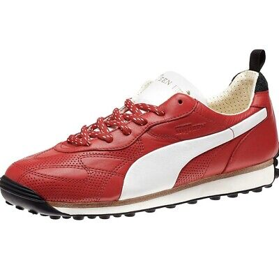 New Puma x Alexander McQueen Rocket Men Sneakers Lipstick Red (all Leather) UK9
