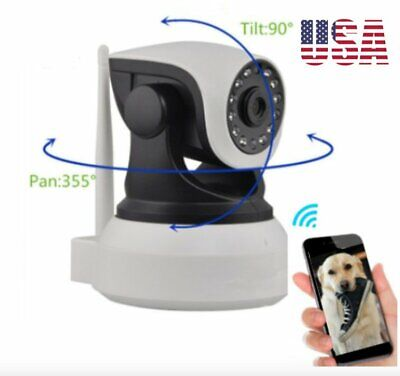 Dog Camera Pet Monitor Pan Tilt Camera From Smart Phone Any Location 2.4g