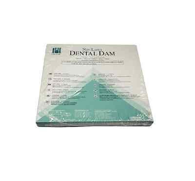 Coltene Hygenic Non-latex Dental Rubber Dam 6 X 6 Medium Teal Green Child Pk15