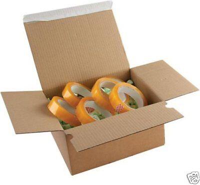 Purely Packaging Corrugated Postal Box Pk 20 Peel & Seal 310x230x81mm PEB40 SHPP
