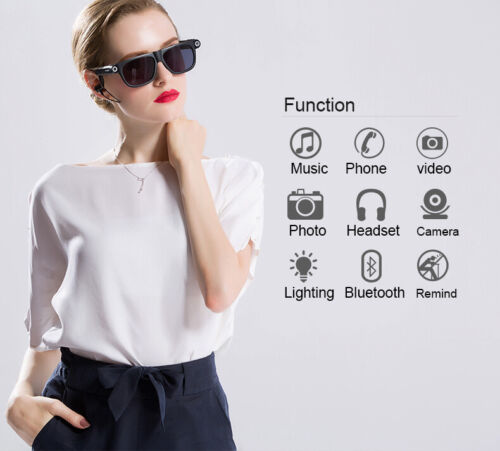 Gliese 581c Smart Glasses (Bluetooth, Video camera, MP3 player)