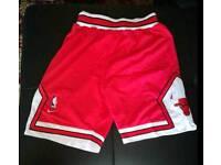 Short Nba Basketball Chicago Bulls Red Nike