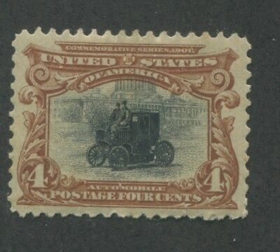 1901 US Stamp #296 4c Mint Hinged VF Original Gum Pan-American Exposition Issue