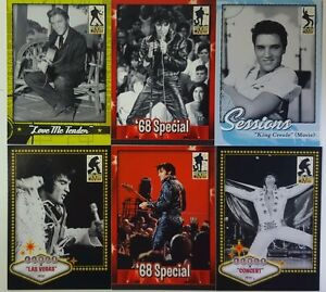 ELVIS LIVES Trading  Card set (90 )  PRESS PASS