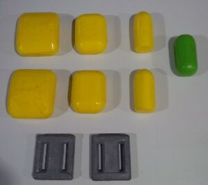 Dive belt weights, belt and keepers - Assorted