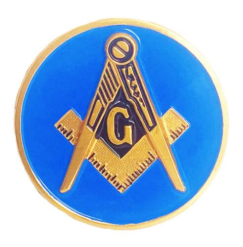 Masonic car emblem  2 3/4 inch #CM