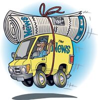 Newspaper Delivery Drivers Wanted !! - $1600/month