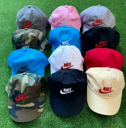 Nike Logo  Front Adjustable Strapback Dad Cap Authentic Men