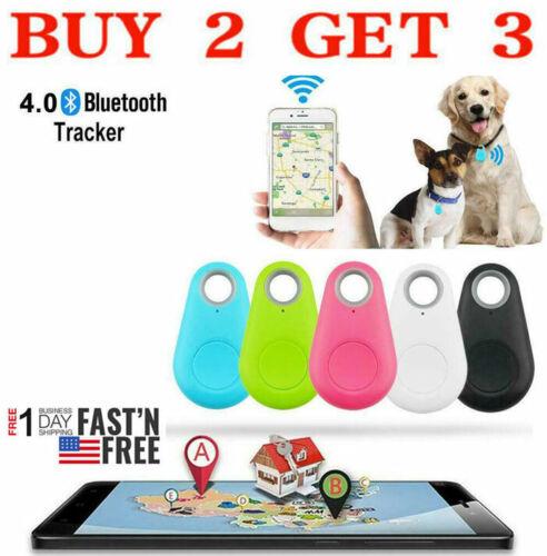 GPS Tracker Alarm Key Finder Pet Locator Smart Tag Wireless Bluetooth Anti  Lost