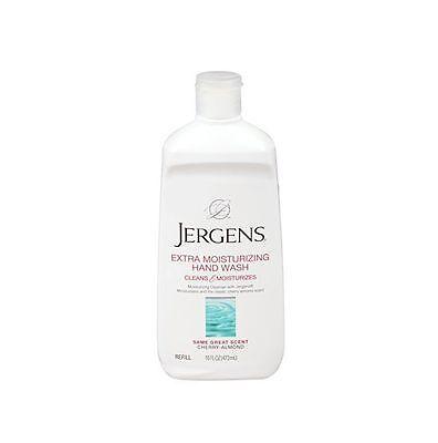 Jergens Extra Moisturizing Hand Wash Refill, Cherry Almond, 16 oz