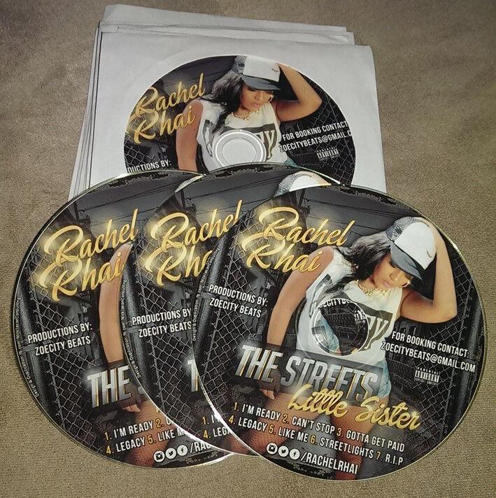 Custom CD Duplication & Printing w/ Free Sleeves (25)