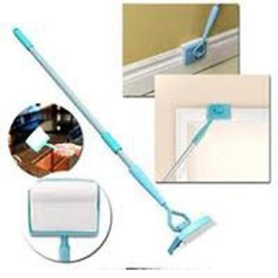 Baseboard Buddy Clean Mop Walk Glide Extendable Microfiber Creative Dust Brush
