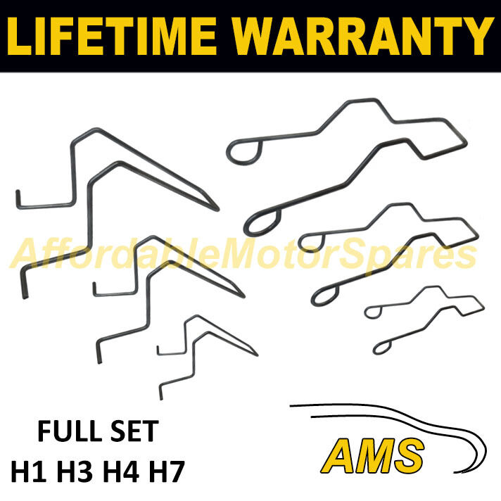 FOR RENAULT UNIVERSAL HEADLIGHT BULB RETAINING SPRING CLIP H1 H3 H4 H7
