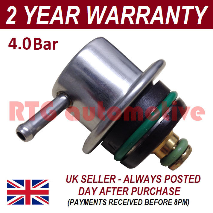 4.0 4 BAR UNIVERSAL FUEL PRESSURE REGULATOR REPLACEMENT UPGRADE INJECTION CARS