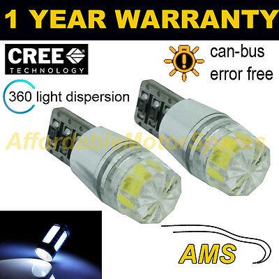 2X W5W T10 501 Canbus sin Errores Blanco SMD LED Bombillas Interiores...