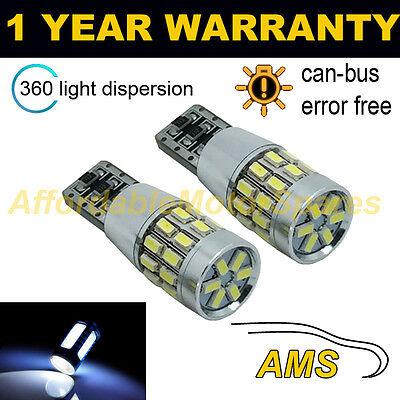 2X W5W T10 501 Canbus Libre de Errores Blanco 30 SMD LED...
