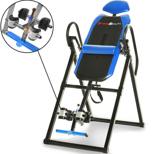 NEW Fitness Reality 690XL Triple Safety Locking Inversion Table with Lumbar