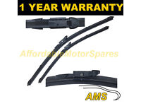 """FOR BMW 6 SERIES E63 2004-2010 DIRECT FIT FRONT AERO WIPER BLADES PAIR 24/"""" 23/"""""""