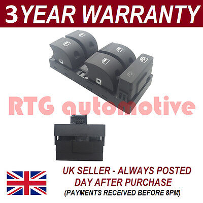 ELECTRIC POWER WINDOW MASTER CONTROL SWITCH FOR AUDI A4 S4 2000-2007 FRONT RIGHT