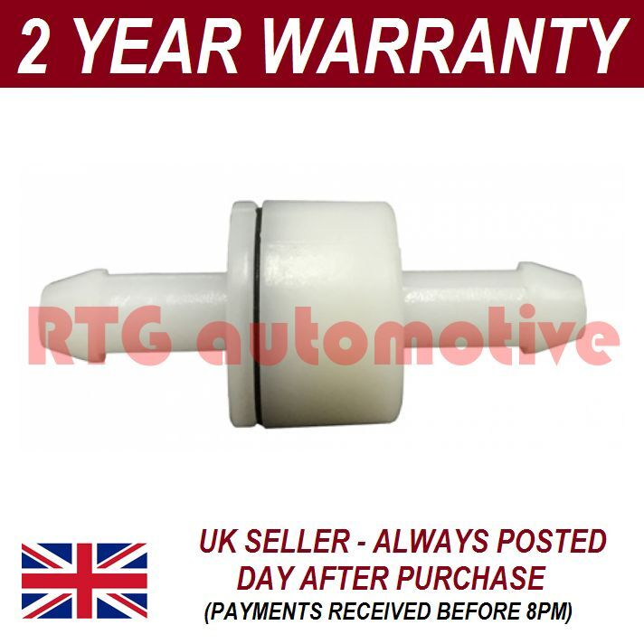 UNIVERSAL WINDSCREEN WASHER SCREENWASH ONE WAY NON RETURN VALVE PIPE 4MM WWY19
