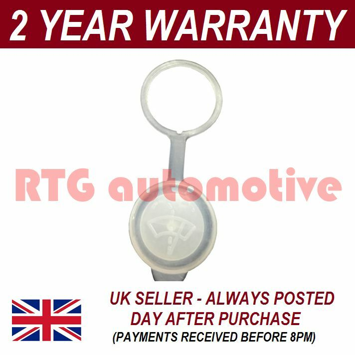 UNIVERSAL WINDSCREEN WASHER SCREENWASH BOTTLE REPLACEMENT CAP TOP COVER WWY27