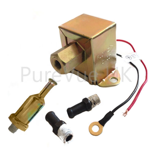 UNIVERSAL SOLID STATE FACET STYLE 12V FUEL PUMP -FPU