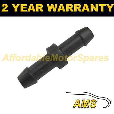 UNIVERSAL WINDSCREEN WASHER SCREENWASH IN LINE PIPE JOINER CONNECTOR 4MM WWY23