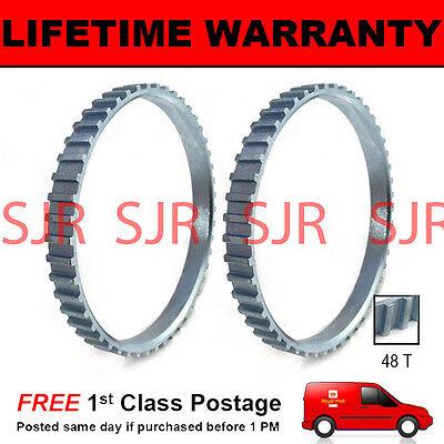 2 X für Peugeot 406 48 Zähne 90mm ABS Reluctor Ring gebraucht kaufen  Versand nach Germany