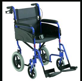 Invacare Alu Lite push wheelchair