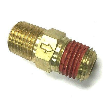 M2525 In Line Brass Ball Check Valve 14 X 14 Mpt