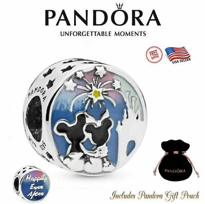 Authentic Pandora Disney Parks Exclusive Mickey and Minnie Mouse Fireworks -