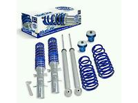 JOM COILOVER KIT BLUE LINE NEW FOR VW GOLF MK4 SEAT LEON TOLEDO SKODA OCTAVIA