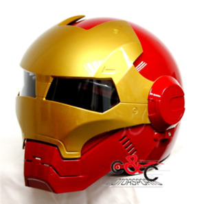 Brand New Iron Man Helmet Size: Large D.O.T Approved.